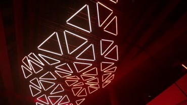 GRID - monumental kinetic light installation