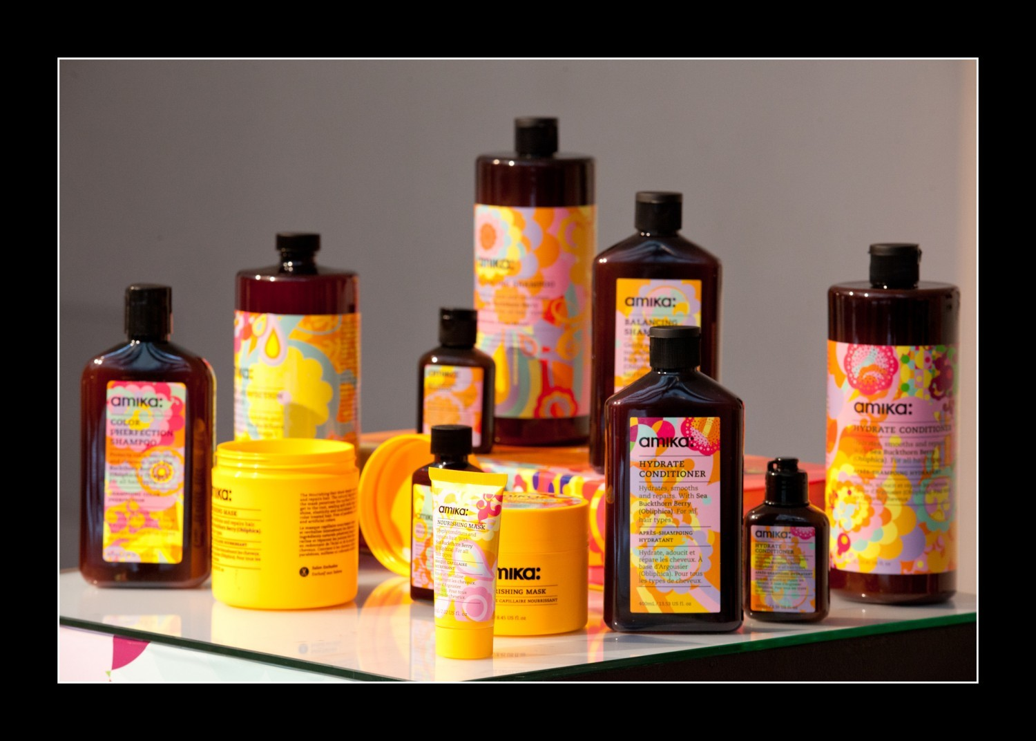 Objectif Coiffure Amika Product Launch
